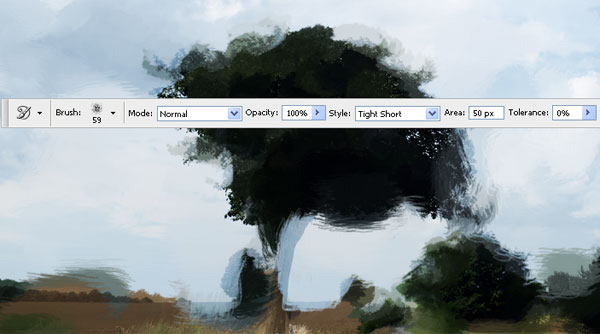Create Watercolor Painting Effect with Photoshop