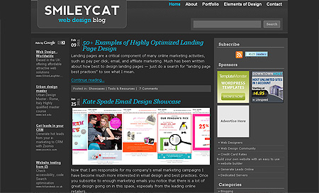 smilecat - Top 10 Web Design Blogs