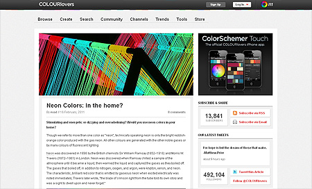 colour lovers - Top 10 Web Design Blogs