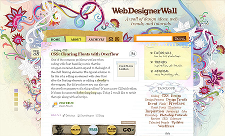 webdesignerwall - Top 10 Web Design Blogs