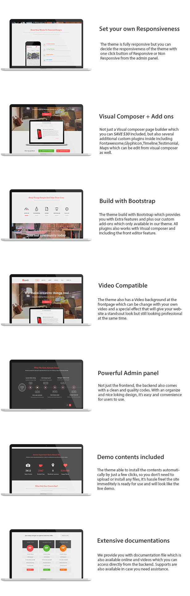 EQUALY - Professional Business WordPress Theme