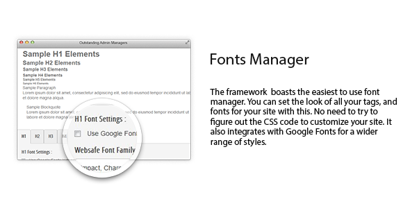 fonts manager