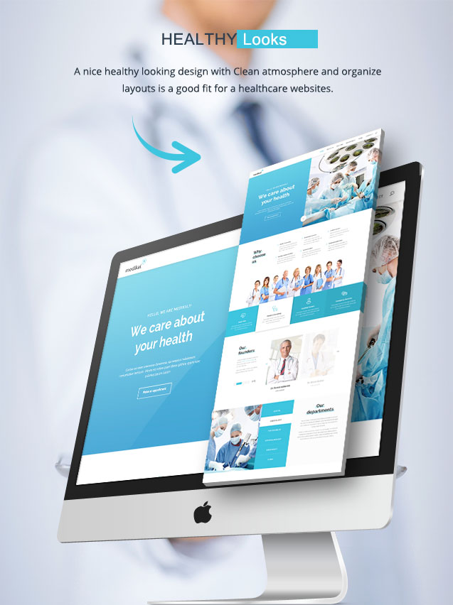 Medical Healthcare WordPress Theme