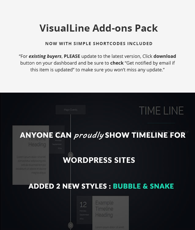 VisualLine Visual Composer Timeline Addons Pack 5